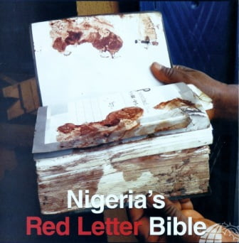 Red letter Bible from Nigeria